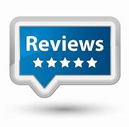 Image saying reviews with 5 stars